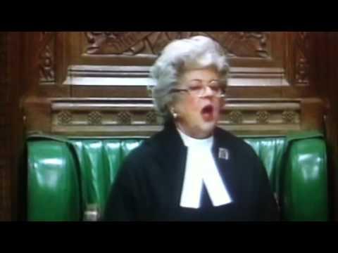 Betty Boothroyd , 'order,order,order!!!