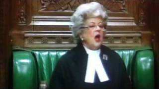 Betty boothroyd ,