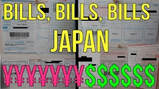 The Cost of Living in Japan--Bills