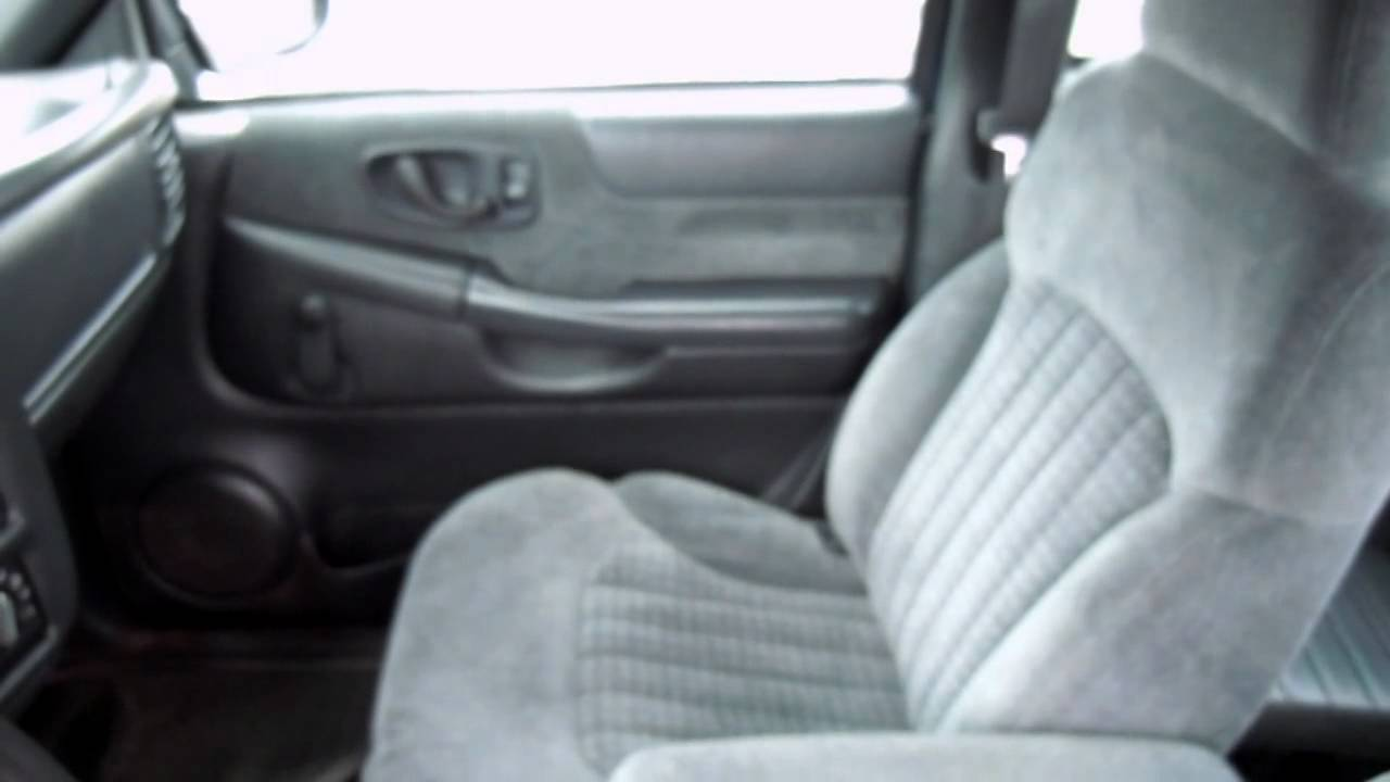 2000 Chevy S10 Ext Cab 4X4 with 81,000 miles DSCN2309 - YouTube