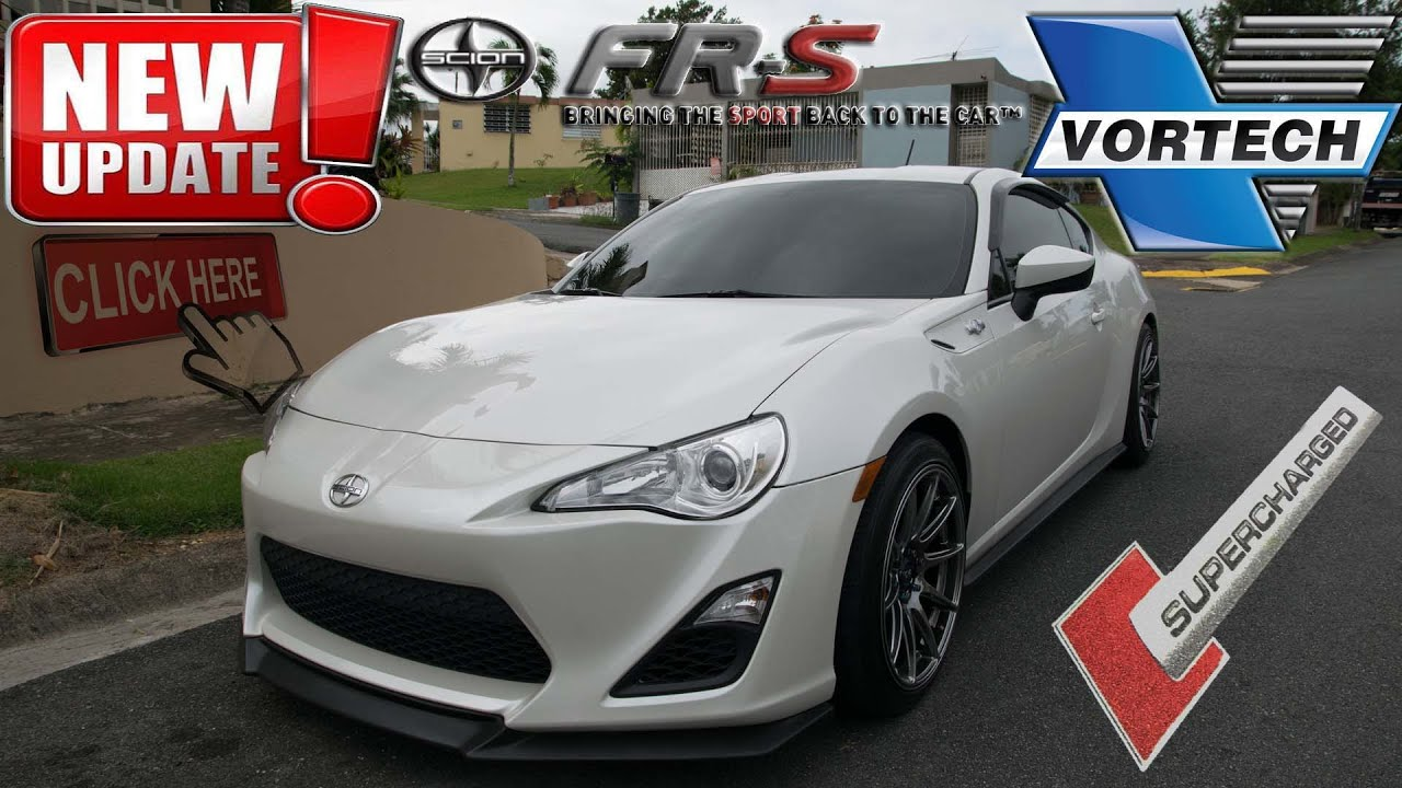 Frs update driving around in a 300 whp supercharged fr s