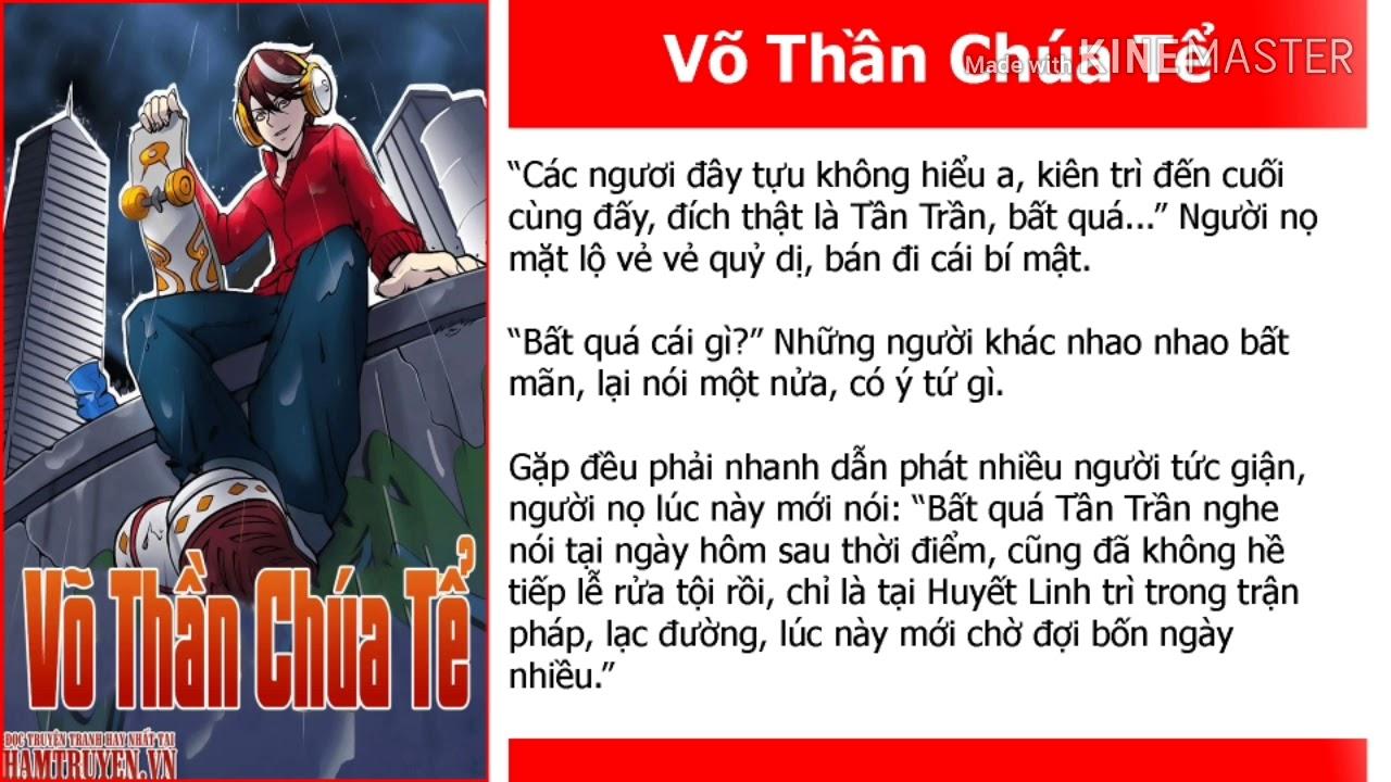 Võ thần chúa tể chap 304+305+306 Tần Trần Đi ra khỏi Huyết Linh Trì