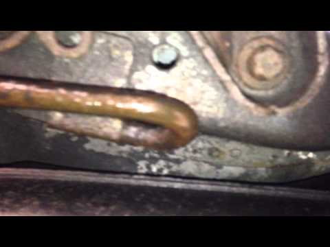 Saab 93 2007 Diesel Fuel Filter leak