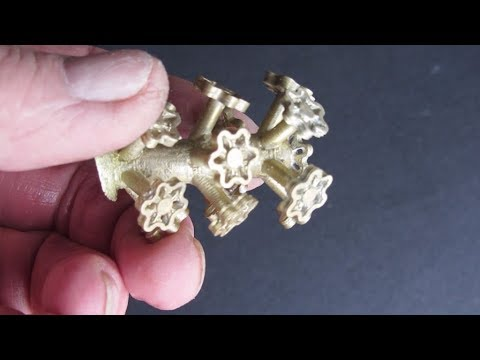 Metal Casting at Home Part 86 Centrifugal Lost PLA Handwheels