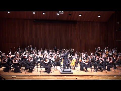 """Obertura """"Carnaval Romano"""" Berlioz Orquesta Sinfónica del Conservatorio UN Dir.Tetsuo Kagehira"""