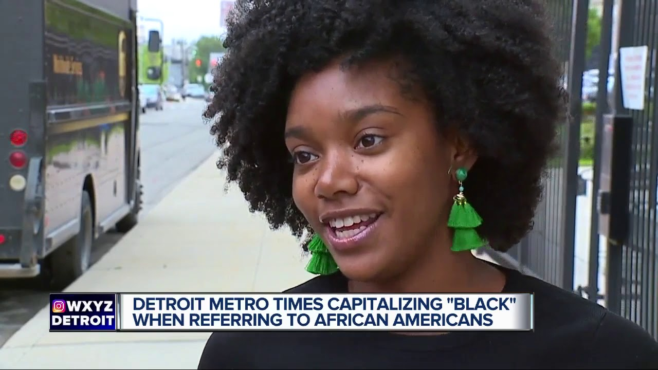 Metro Times to capitalize 'B' in 'Black' when using it for race