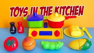 Toys in the Kitchen - CHRISTMAS IN JULY 2016