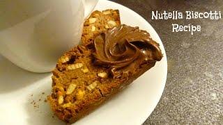 Nutella Biscotti Recipe (can Be Made Gluten Free)