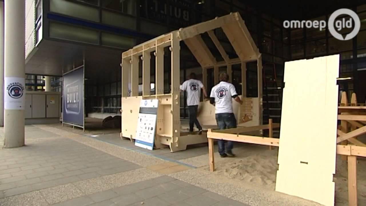 Huis Als Bouwpakket : Arnhem: een huis bouwen in 3 uur youtube