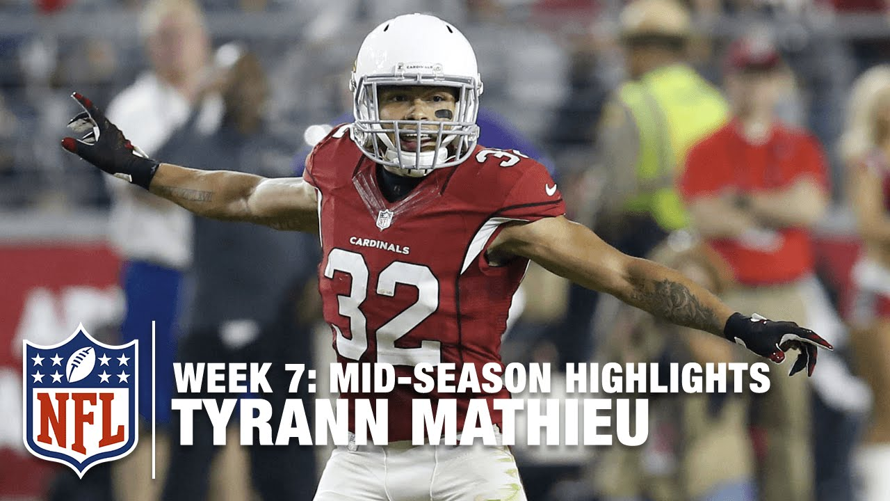 "Tyrann ""Honey Badger"" Mathieu Mid Season Highlights"