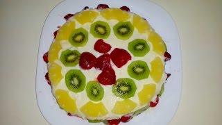 Gâteau aux fruits exotiques | Gâteau d'anniversaire