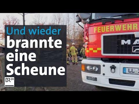 Vermutlich Brandstiftung: 200 Schafe tot bei Scheunenbrand | Abendschau | BR24