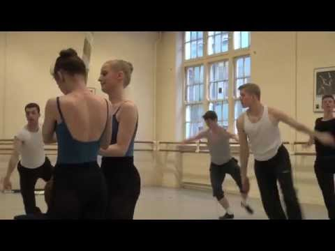 Central School of Ballet: Behind the scenes