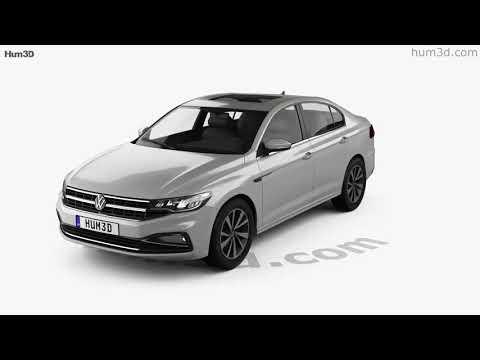 Volkswagen Bora 2019 3D model by Hum3D.com