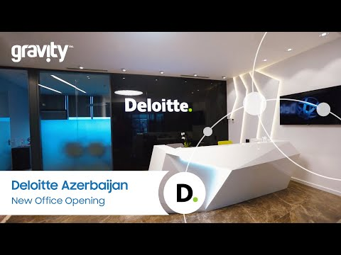 Deloitte Azerbaijan: New Office Opening