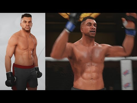 UFC 3 GOAT Career Mode - Creation and Debut! EA Sports UFC 3 Gameplay PS4