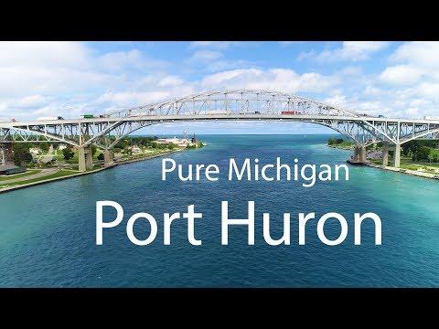 Port Huron / Fort Gratiot Point Lighthouse Blue Water Bridge