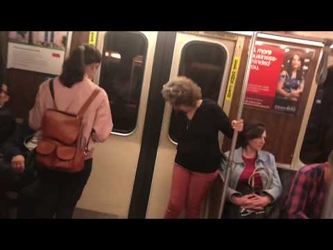 A Ride on MBTA Orange Line from North Station to Chinatown