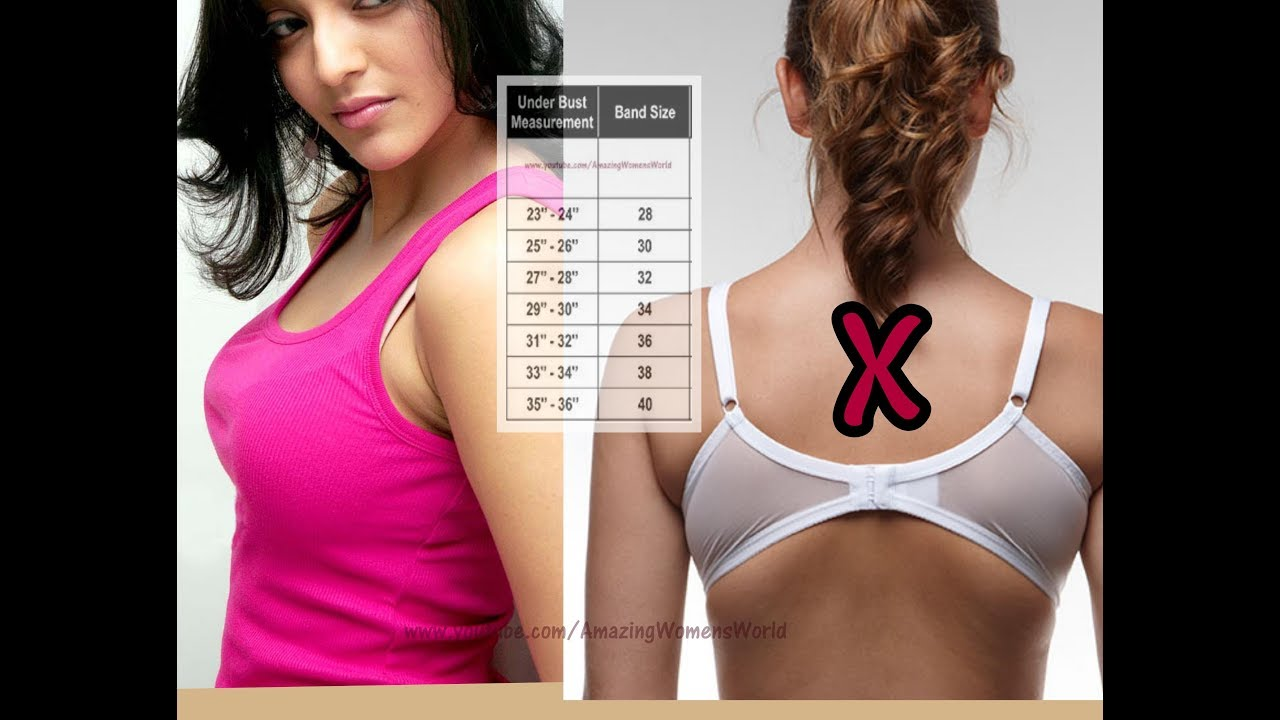 How to find the right size bra 5 Tips To Find The Right Bra Size