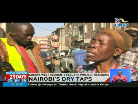 Kahawa West residents feel the pinch of water rationing
