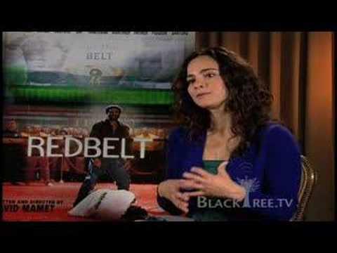 Alice Braga, RedBelt, Interview