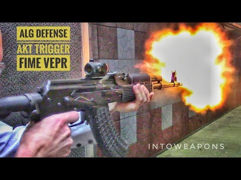 ALG AKT Trigger: AK Trigger Replaced in FIME VEPR x39 - YouTube