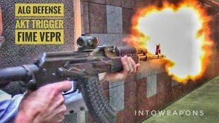 ALG AKT AK-47 Trigger: FIME VEPR Trigger Replaced