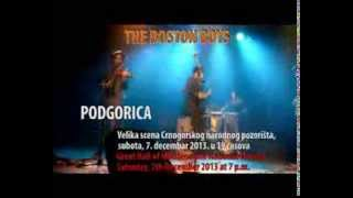 Boston Boys Quartet Performs in Montenegro