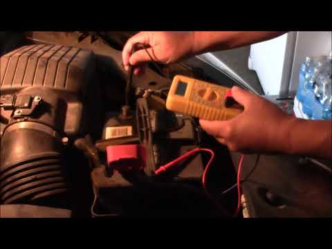 How To Test An Battery And Alternator Honda Odyssey 2007
