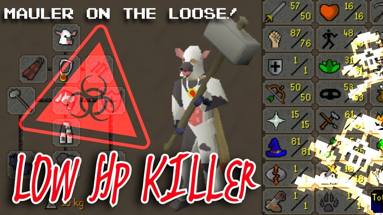 PROD MAULER PKING - PUMP Trained Strength - LOW HP #OSRS