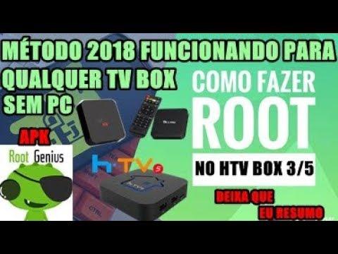 TUTORIAL DE COMO FAZER ROOT NO HTV BOX 5 / HTV BOX 3