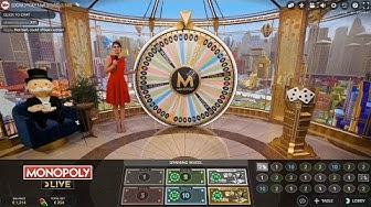 Roulette Monopoly Wheel BJ DOND Tables Slots Sesh