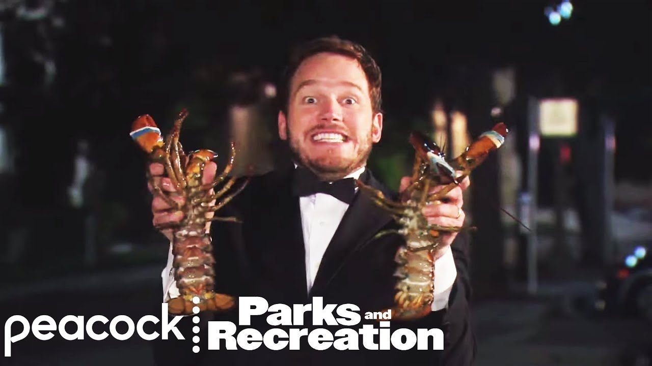 Parks and Recreation - Deleted Scene: Andy and April's Lobster Prank (Digital Exclusive) - YouTube