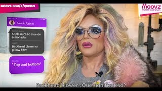 RuPaul's Drag Queens Learn Gay Spanish Slang | Moovz KIKI Show