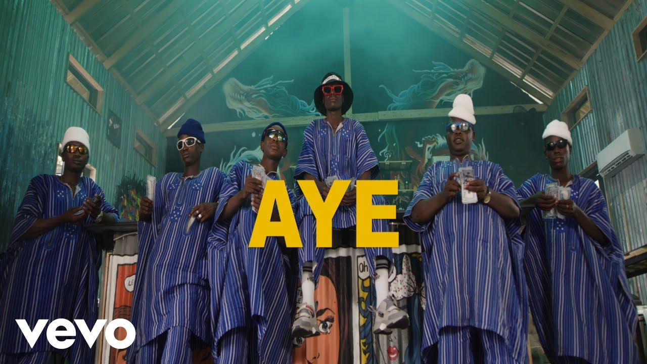 Nappy, Burna Boy - Aye (Official Video)