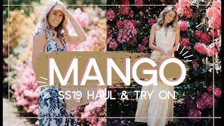 MANGO SPRING SUMMER 2019 HAUL & TRY ON // Fashion Mumblr