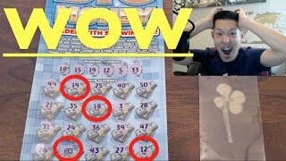 BIGGEST WIN EVER ON BIG MONEY IDAHO LOTTERY SCRATCHERS!!!