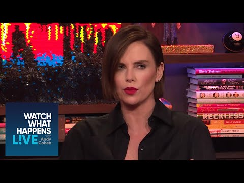 Do Charlize Theron and Angelina Jolie Have Beef?  WWHL