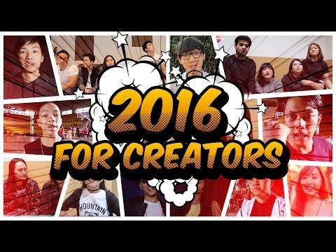 Tahun 2016 untuk Kreator