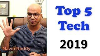 Top 5 Technologies in 2019