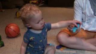 16 Month Old Baby Identifies ABC's and 123's