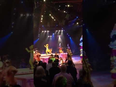 Participating in The Lion King Show at Animal Kingdom! January 2018