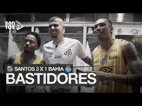 SANTOS 3 X 1 BAHIA | BASTIDORES | BRASILEIRÃO (01/11/20)