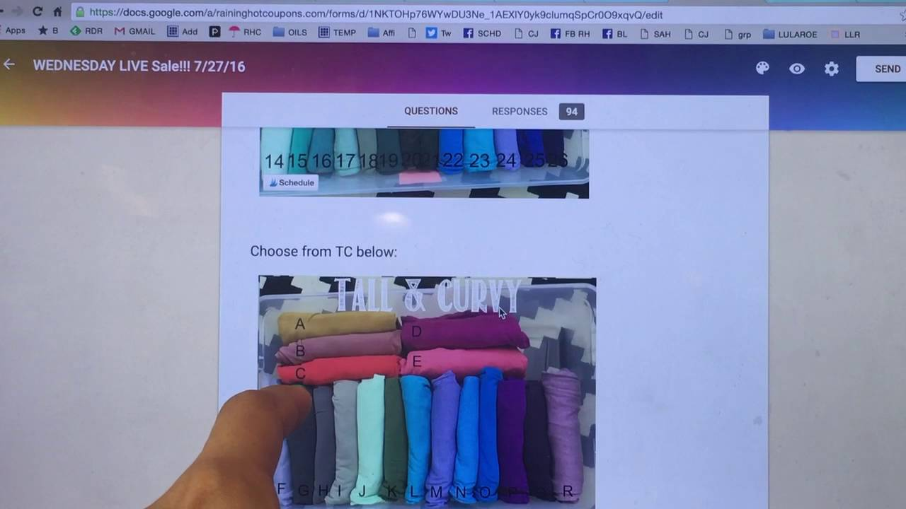 how to create a google doc for lularoe