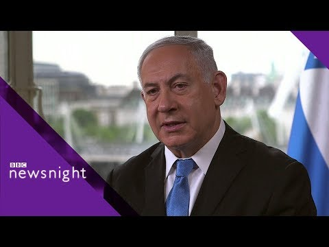 Israeli PM Netanyahu on the Iran nuclear deal and Israeli-Palestinian conflict - BBC Newsnight