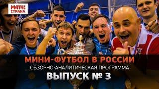 Мини футбол в России 3 й выпуск