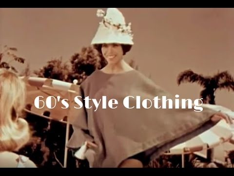 1960's Style Clothing and 1960's Fashion - Trends of the Sixties