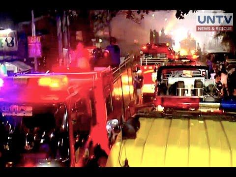 10 bahay tinupok ng sunog sa San Andres Maynila kagabi