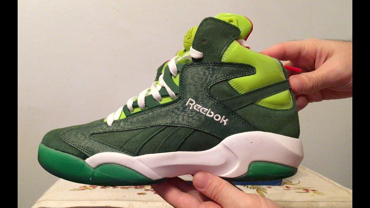 1e49c24f51e Shaq Attaq Reebok Pump Sneakers - YouTube