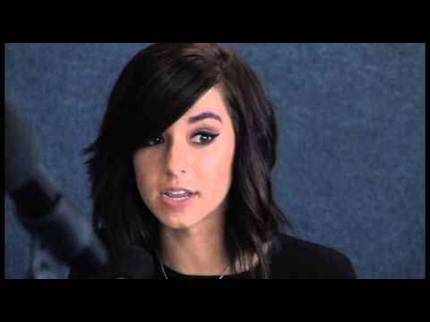 Christina Grimmie Love Song To The Earth Press Conference